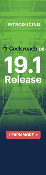 CockroachDB v19.1 launch webinar