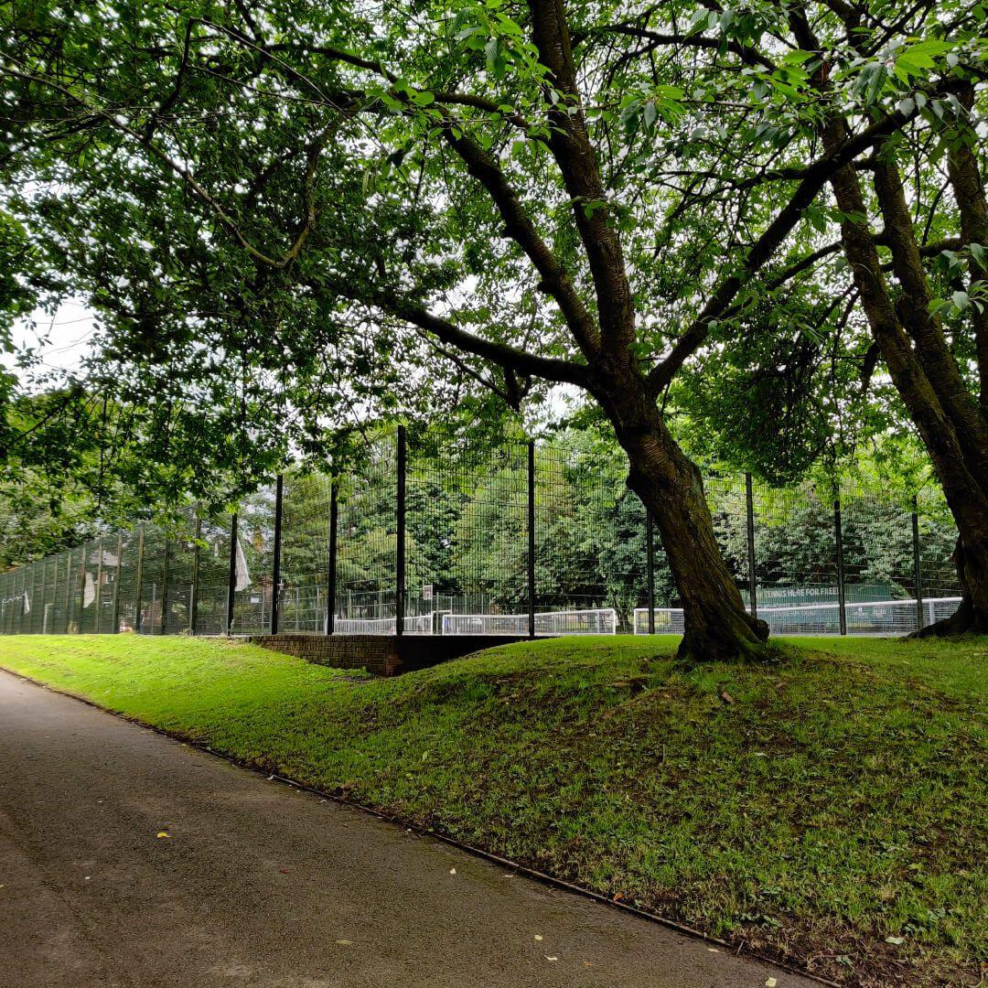 Chapel Allerton Park Tennis Court
