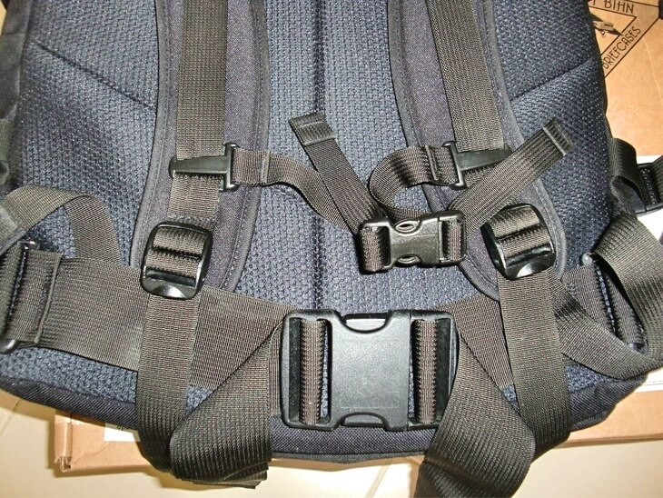 Shoulder harness was replaced with a new one