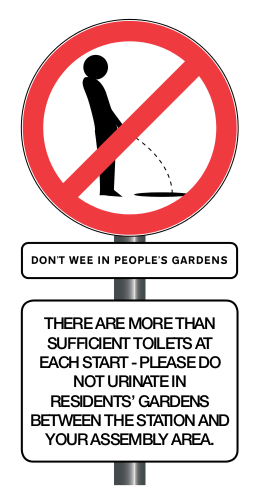 Don't Wee In Peoples Gardens