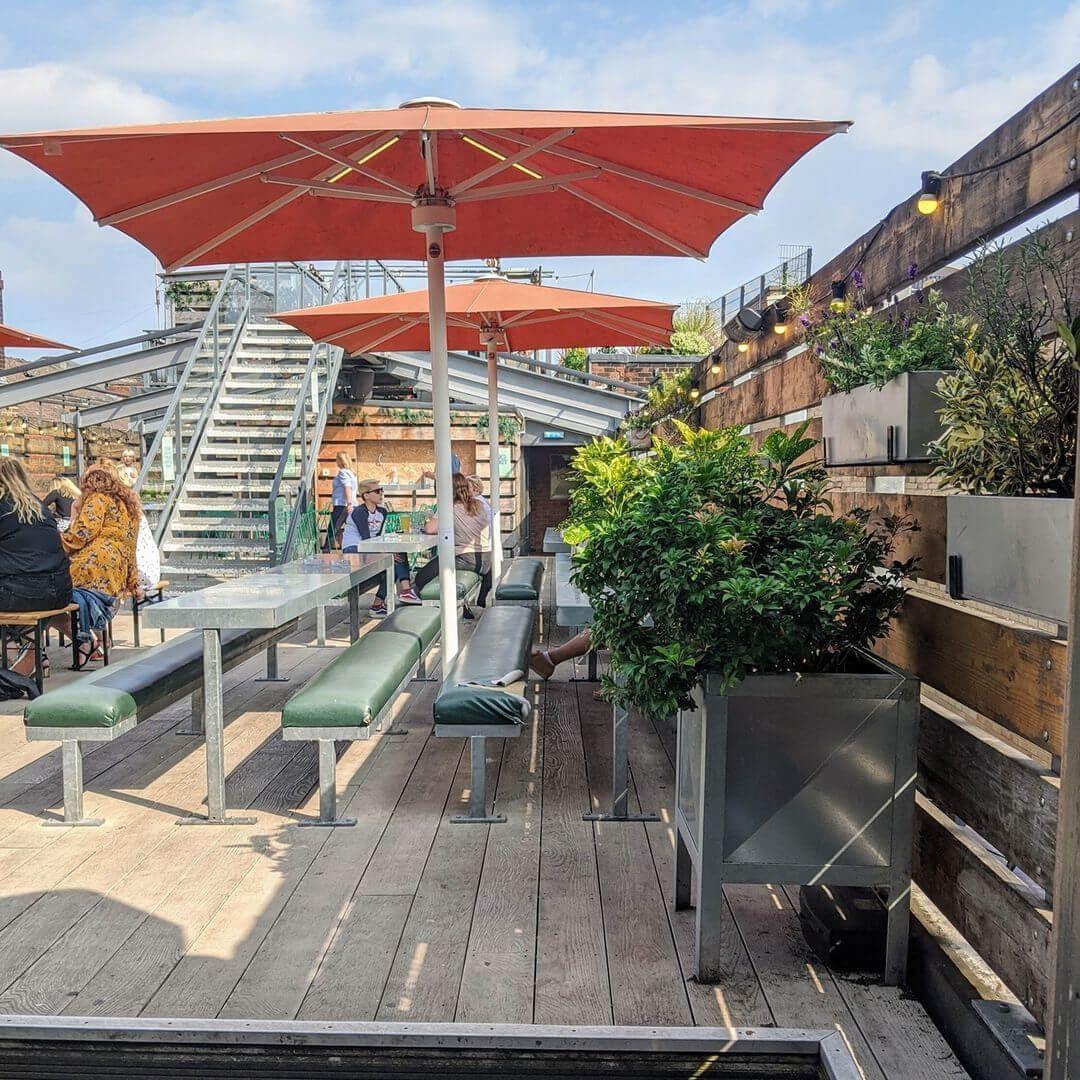 Headrow House rooftop bar