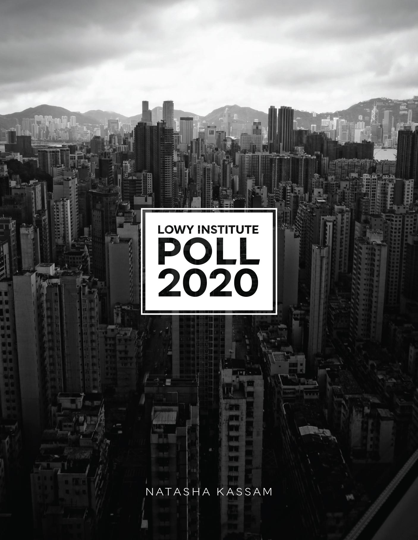 Lowy Institute Poll 2020 Cover