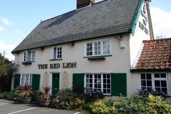 image from Review: The Veggie Red Lion, Suffolk.