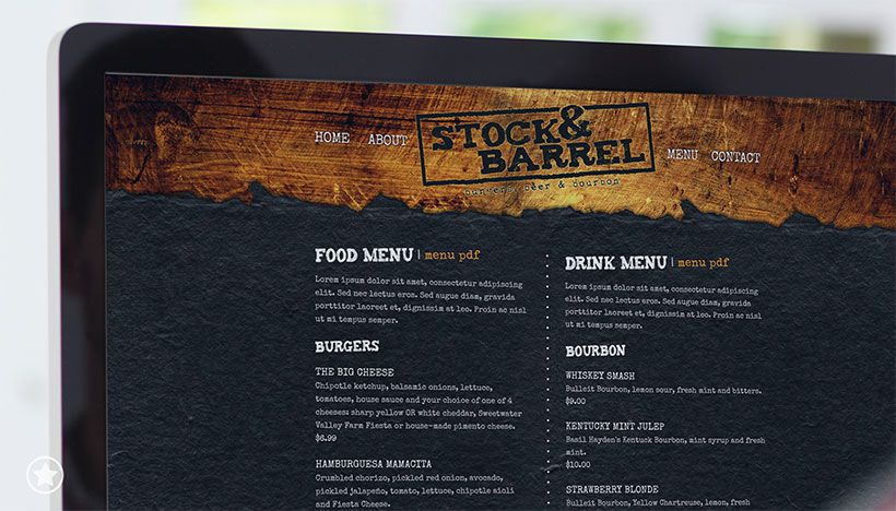 Stock & Barrel Website