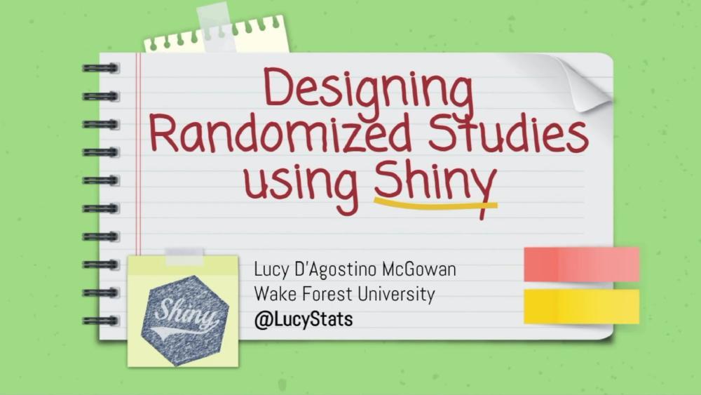 Designing Randomized Studies using Shiny