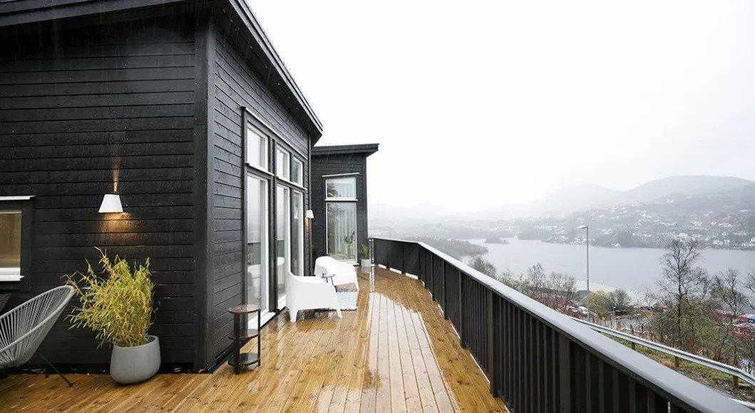 Hjemme hos Yvonne ferdighus i Bergen