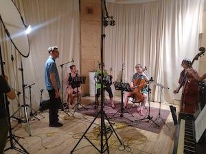 Behind the Scenes im Tonstudio