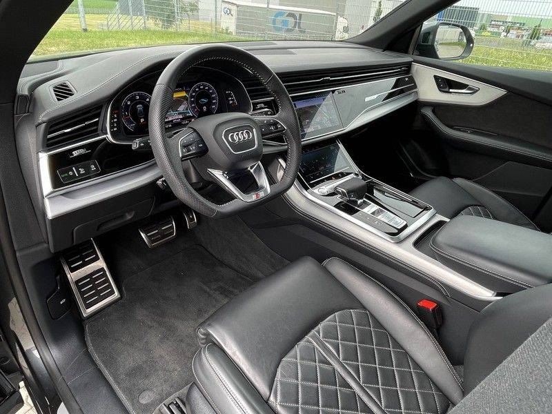 Audi Q8 50TDI 286pk Quattro S-Line Black Optic Lucht RS-Zetels B&O Pano Leder-Dash 22-Inch Soft-Close! afbeelding 18