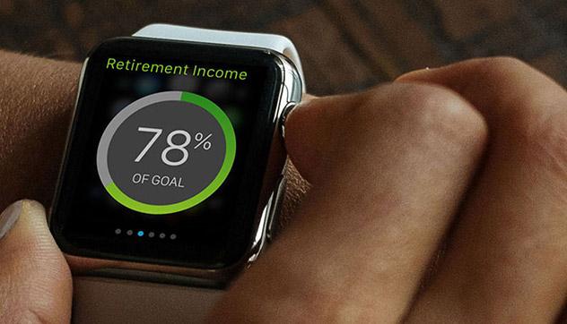 Apple Watch App for Retirement Planning