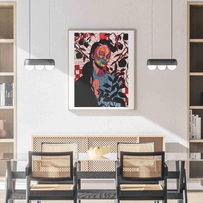 'Inside The Outside' Giclée Art Print