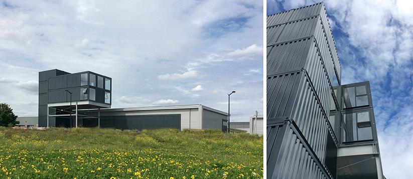 Marketing Building for SEGRO's Enterprise Quarter nears completion