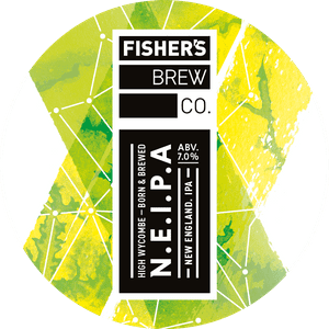 Fisher's NEIPA keg badge