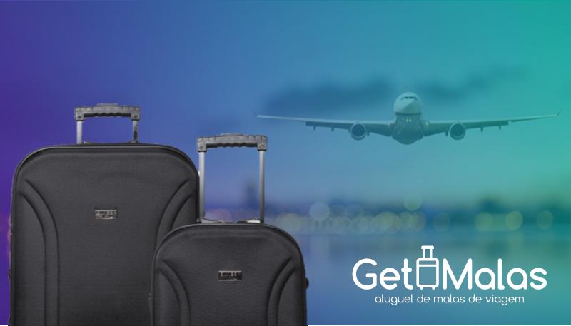 Imagem em destaque para o artigo: Aluguel de malas é alternativa sustentável para viajantes práticos