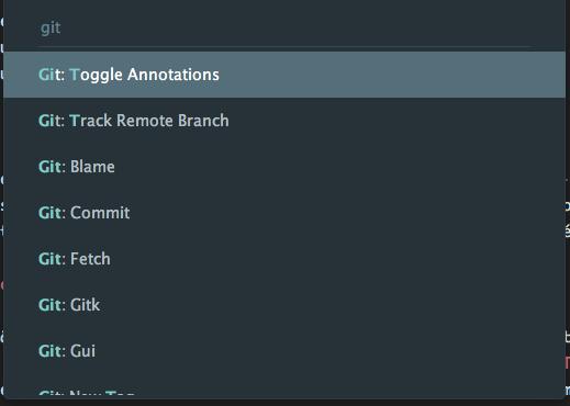 Tela mostrando o Git Blame em ação