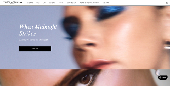 Victoria Beckham Headless Shopify