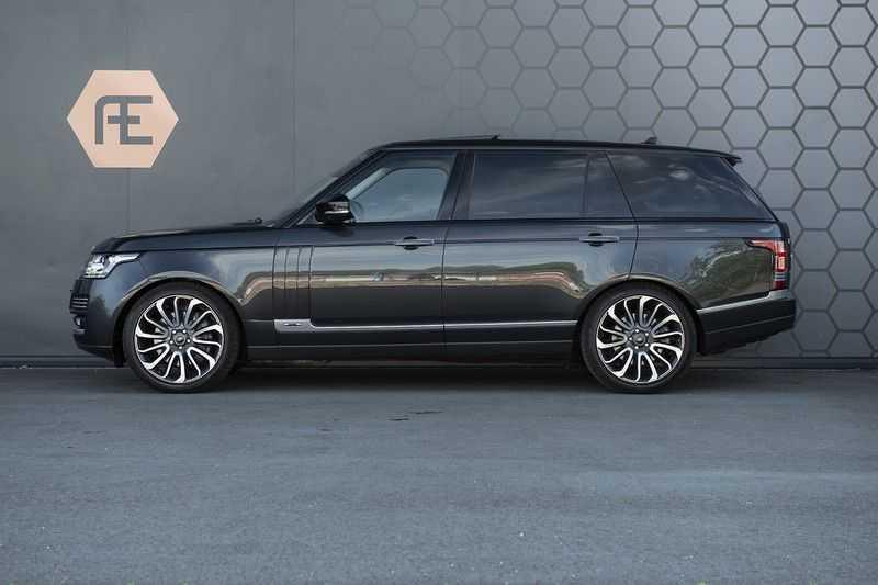 Land Rover Range Rover 4.4 SDV8 Autobiography LWB Rear seat entertainment + Pano afbeelding 2