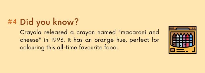 Mac & cheese fact 4
