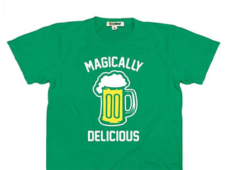A green t-shirt for wearing to bars on St. Patrick's Day