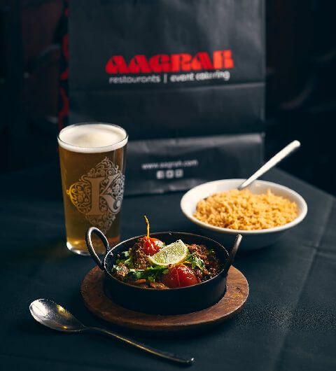 Aagrah curry Leeds