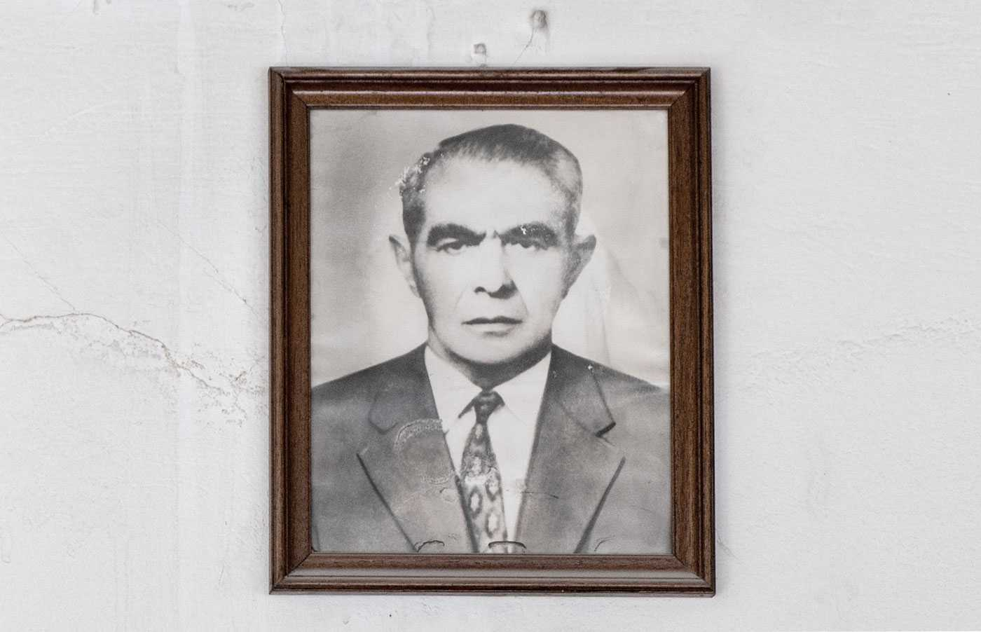 Portrait of the founder of K. Raikos S.A., Konstantinos Raikos.
