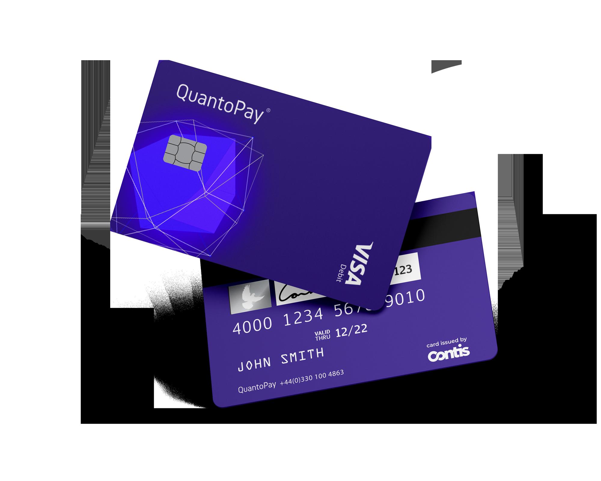 QuantoPay Visa card