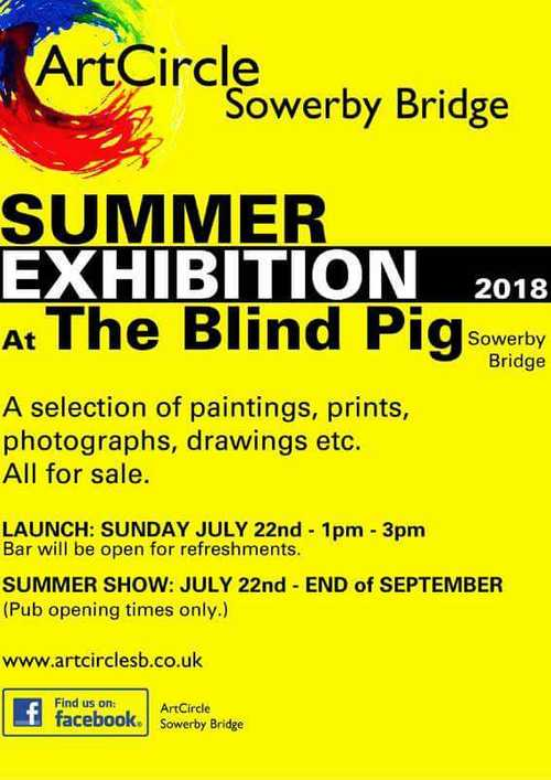 Art Circle Summer Exhibition at The Blind Pig