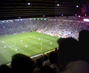 England playing at Old Trafford