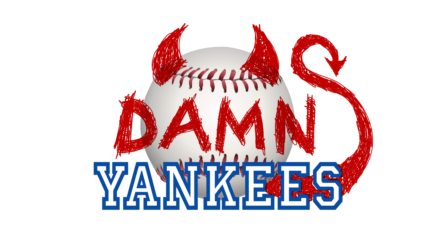 Show Logo for Damn Yankees
