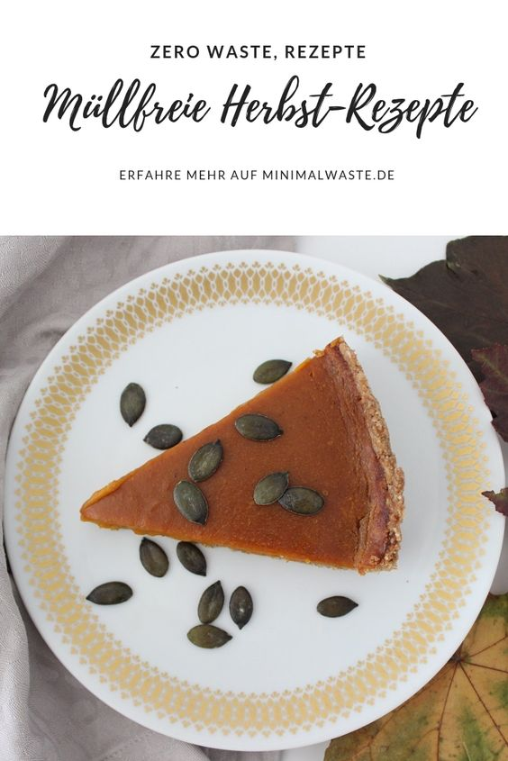 Pinterest Cover zu '4 leckere müllfreie Rezepte für den Herbst'