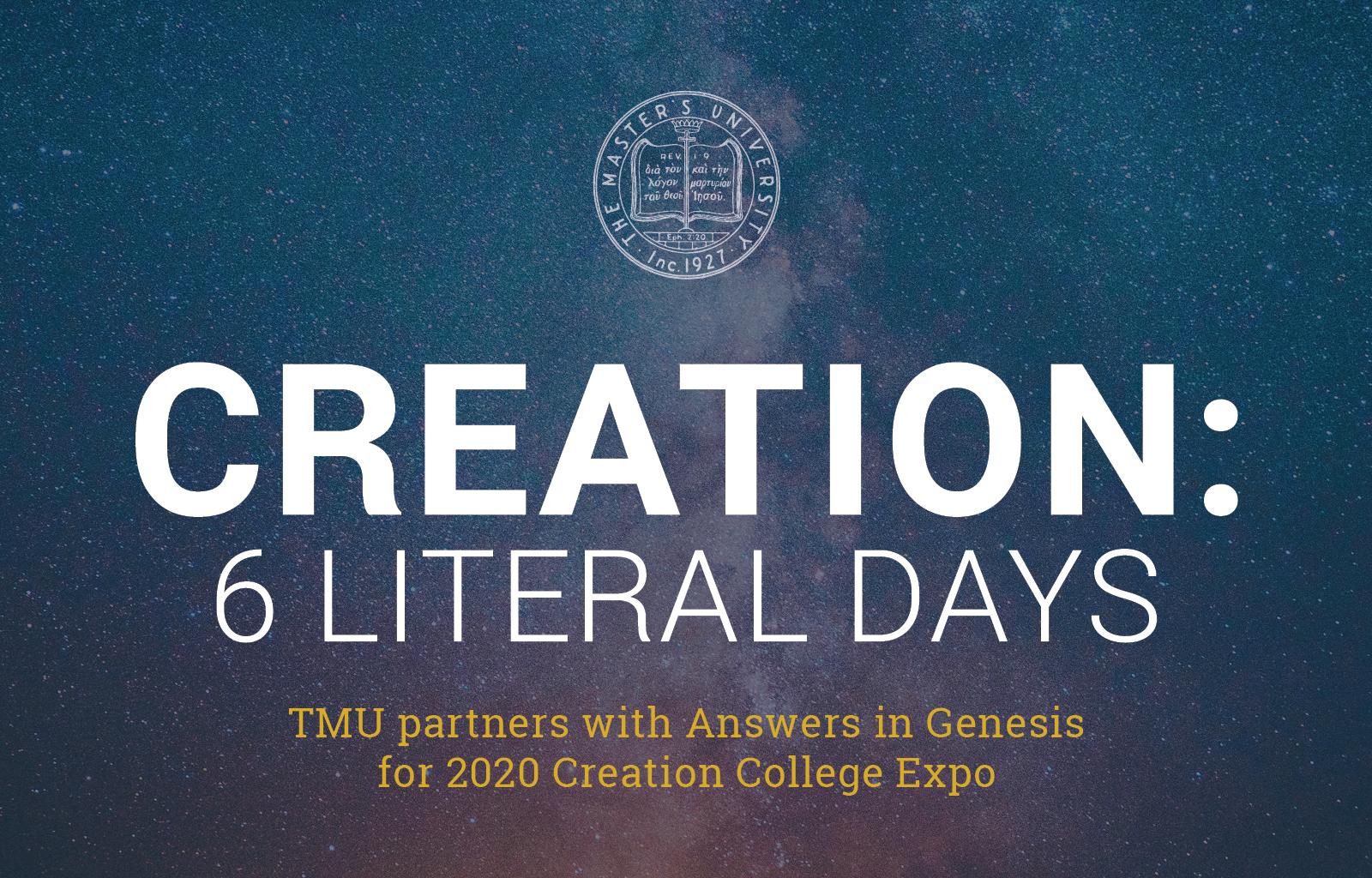 Creation: 6 Literal Days