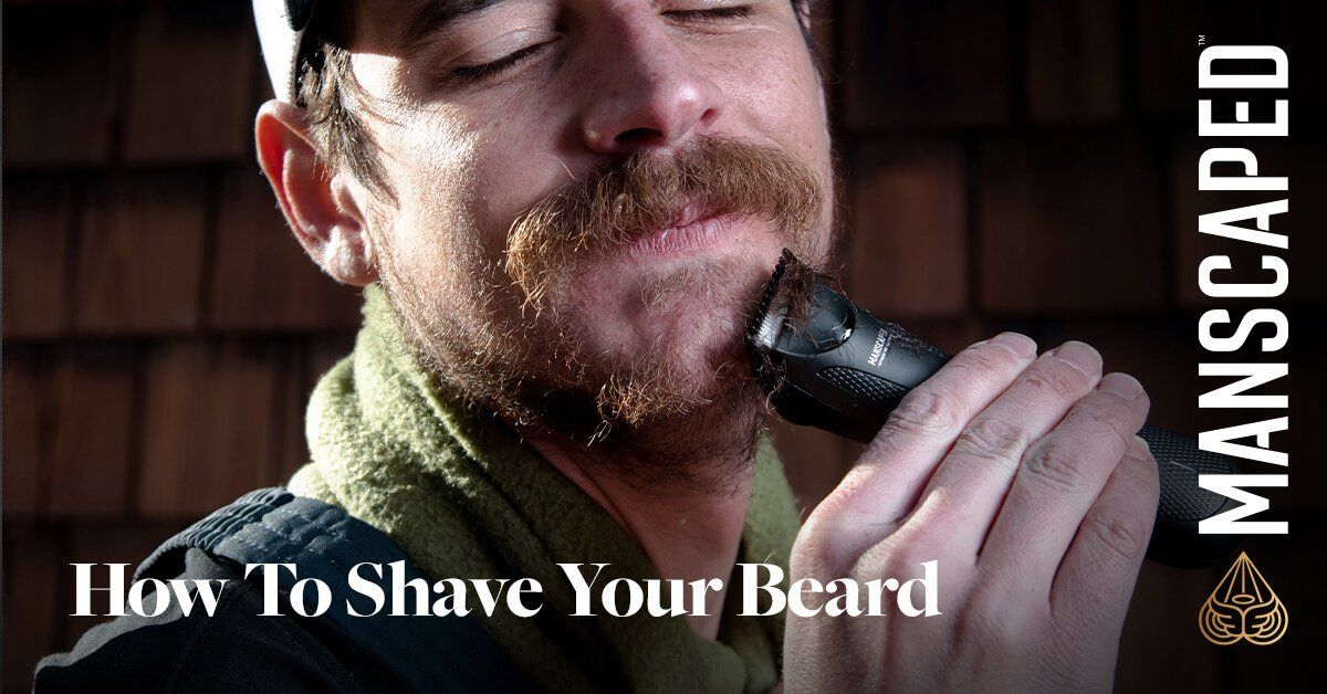 How to Shave Your Beard Completely Off