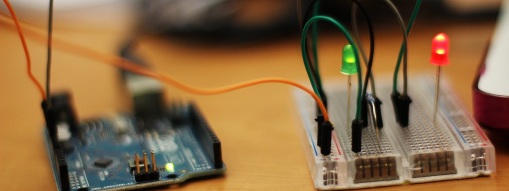 Arduino with some LEDs