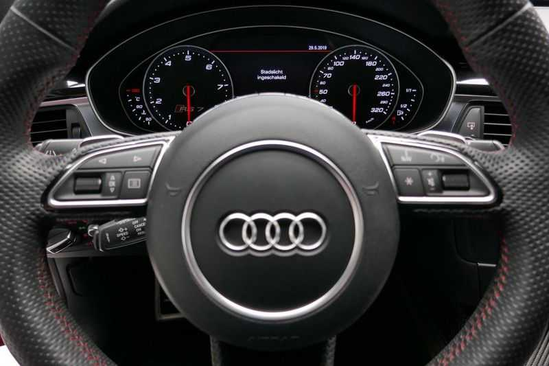 Audi RS7 Sportback A7 4.0 TFSI quattro Pro Line plus B&O - Ceramic brakes afbeelding 17