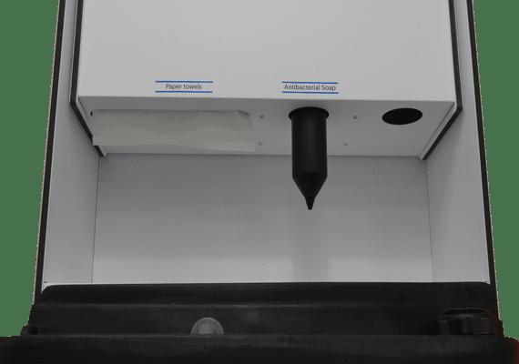 large hand wash station dispenser