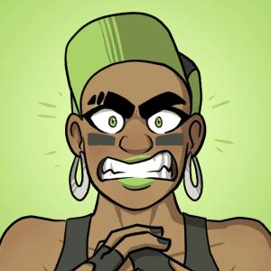 Ishi screams.