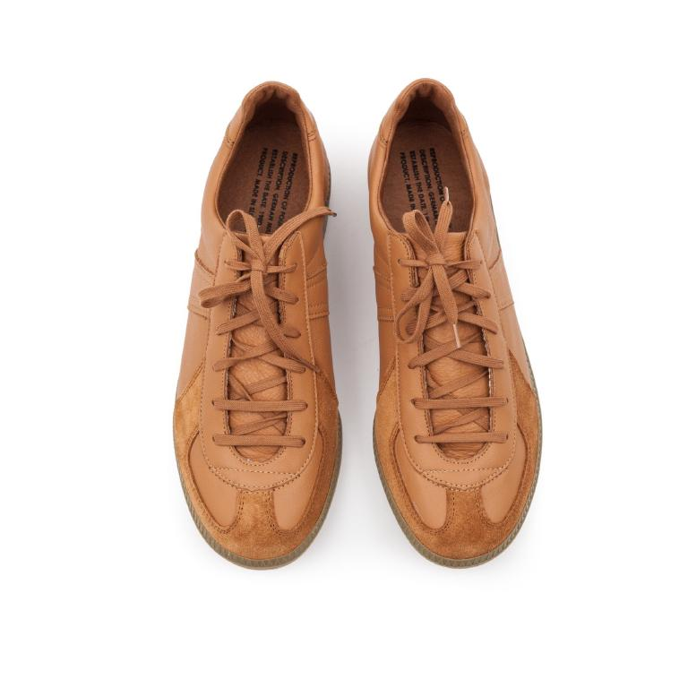 Brown German Army Trainers