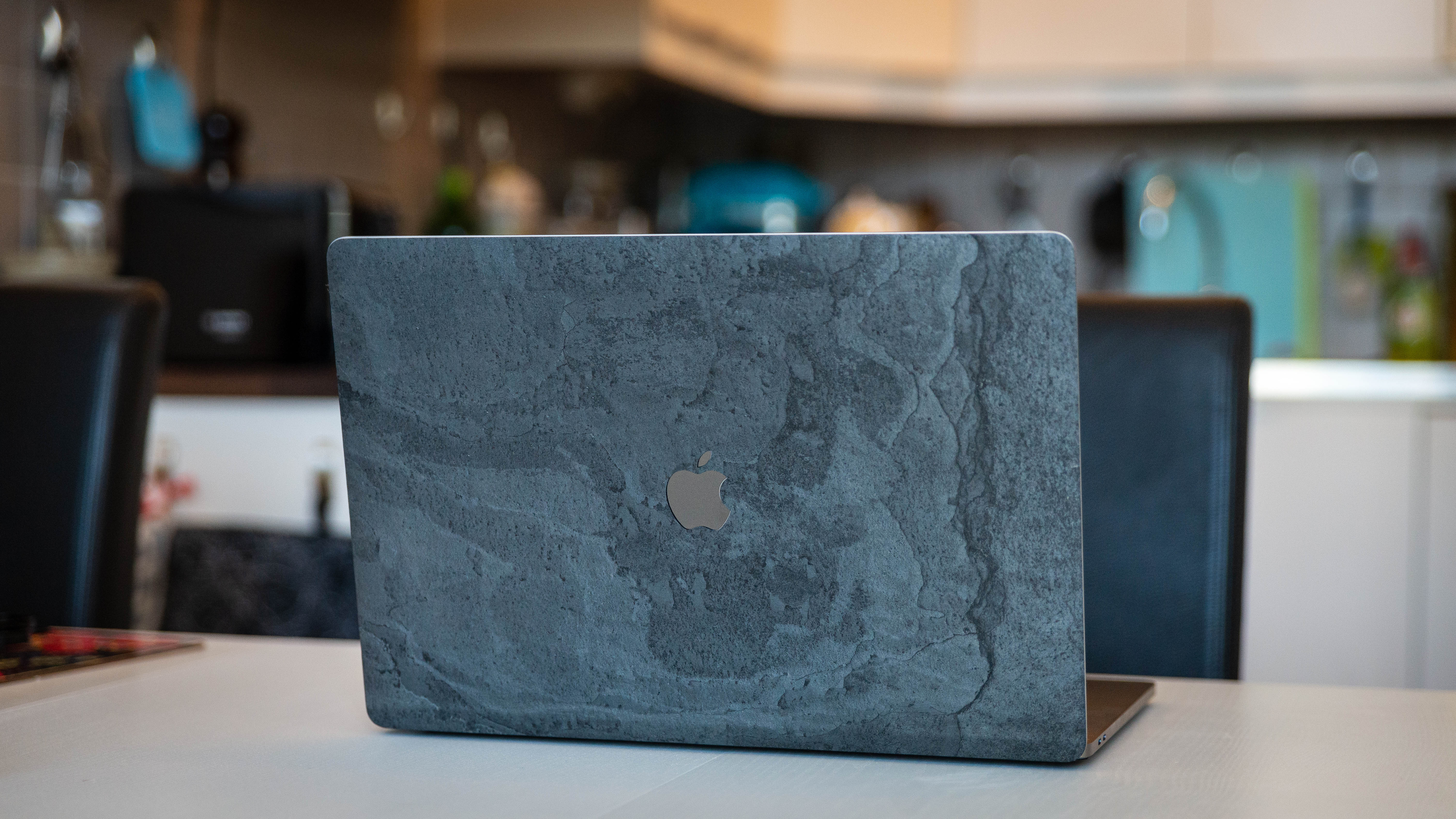 MacBook Pro 16 inch with Roxxlyn slate skin