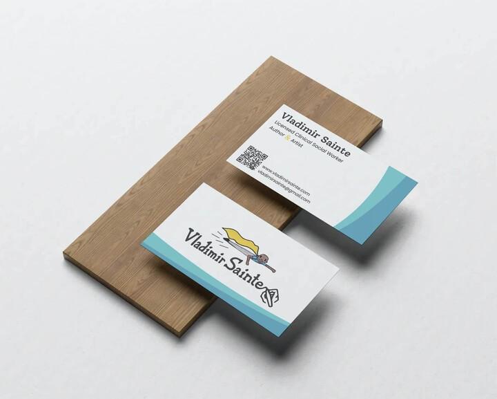 vladimir sainte business card
