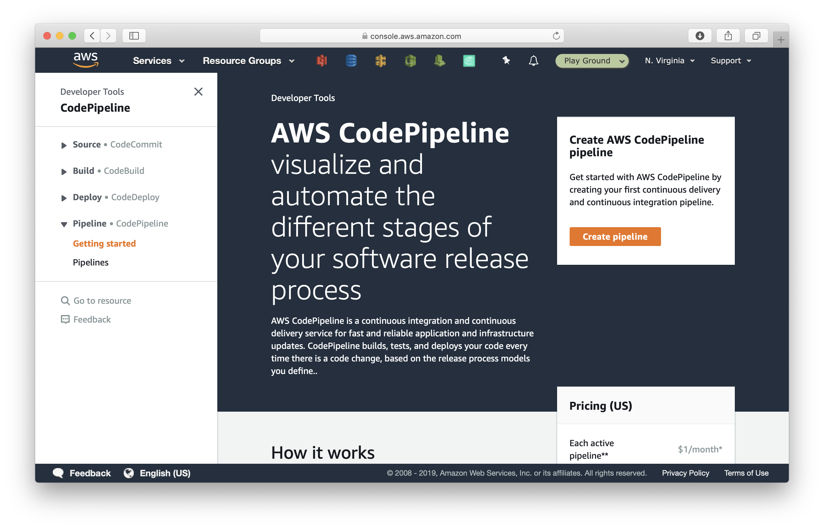 How to build a CI/CD pipeline for Serverless apps with AWS