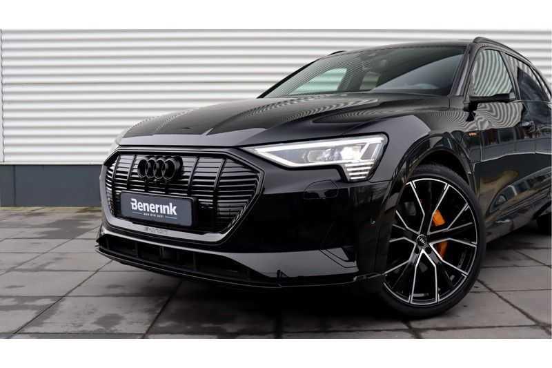 Audi e-tron 55 quattro Advanced S Line excl. BTW Panoramadak, B&O, S Sportstoelen, DAB, Head-Up Display afbeelding 17