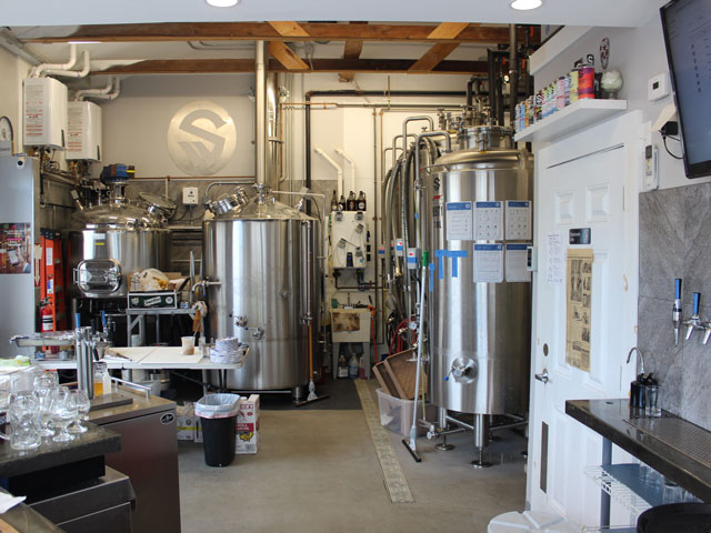 Second Wind Brewing Company in Plymouth, MA