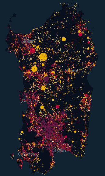 12 Years of fire in Sardinia, screenshot