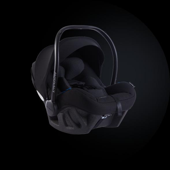 Black Pixel Pro car seat
