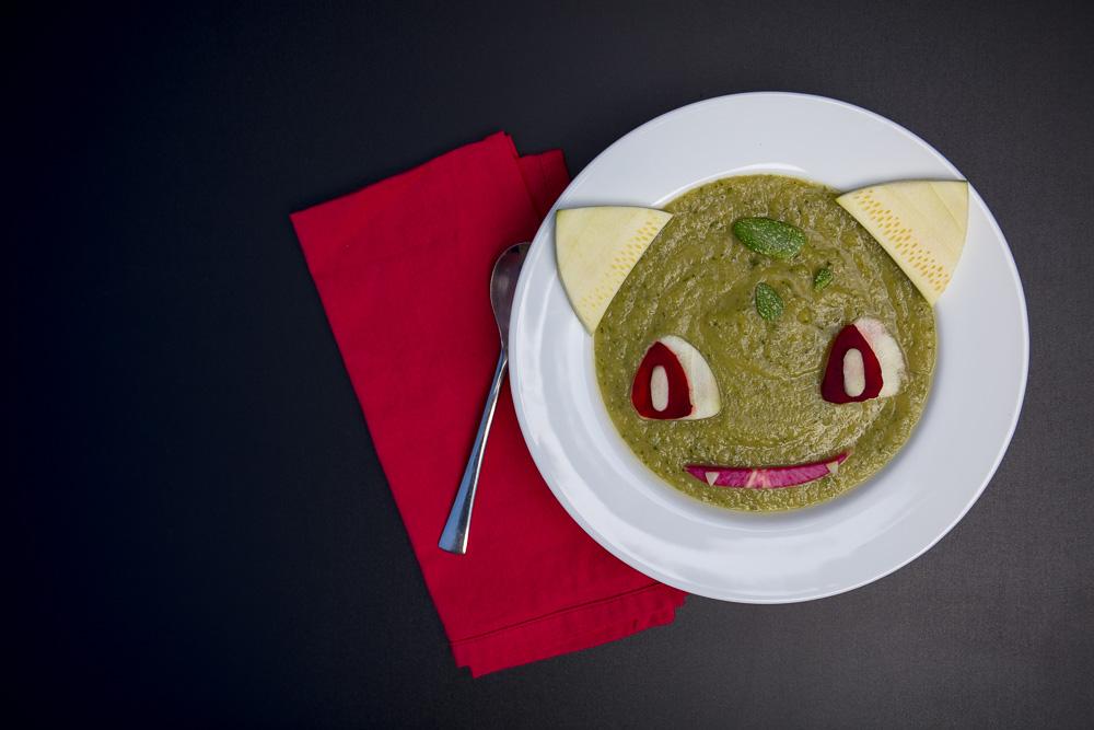 Bulbasaur Zucchini Soup