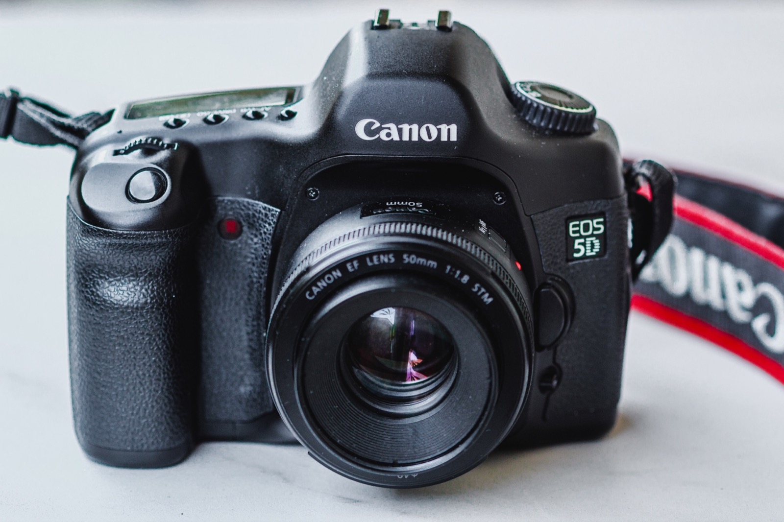 Canon 5D Mark 1 with 50mm lens
