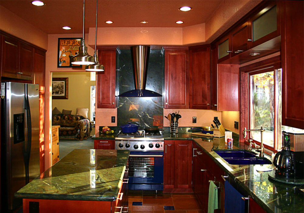 image of custom kitchen remodel in Rancho Penasquitos