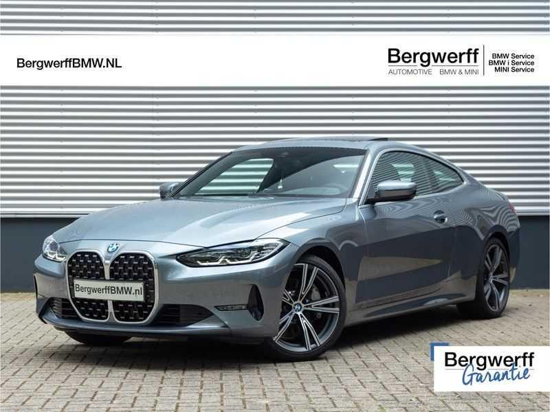 BMW 4 Serie Coupé 430i High Executive - Dak - Camera - Harman Kardon afbeelding 1