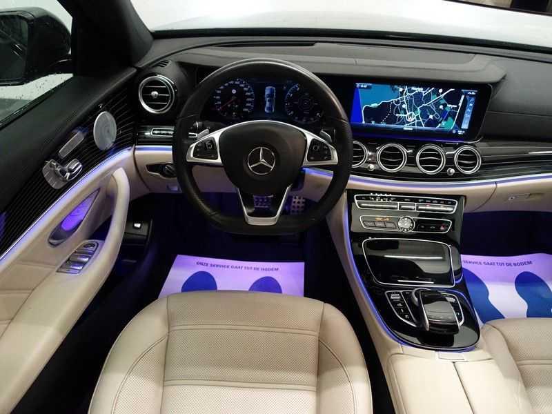 Mercedes-Benz E-Klasse 43 AMG 4Matic Prestige 402pk Aut- Pano, Burmester, Head-up, 360 Camera afbeelding 3