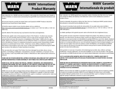 International Warranty