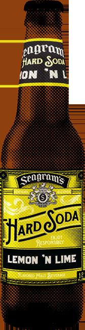 Seagram's Hard Soda Lemon